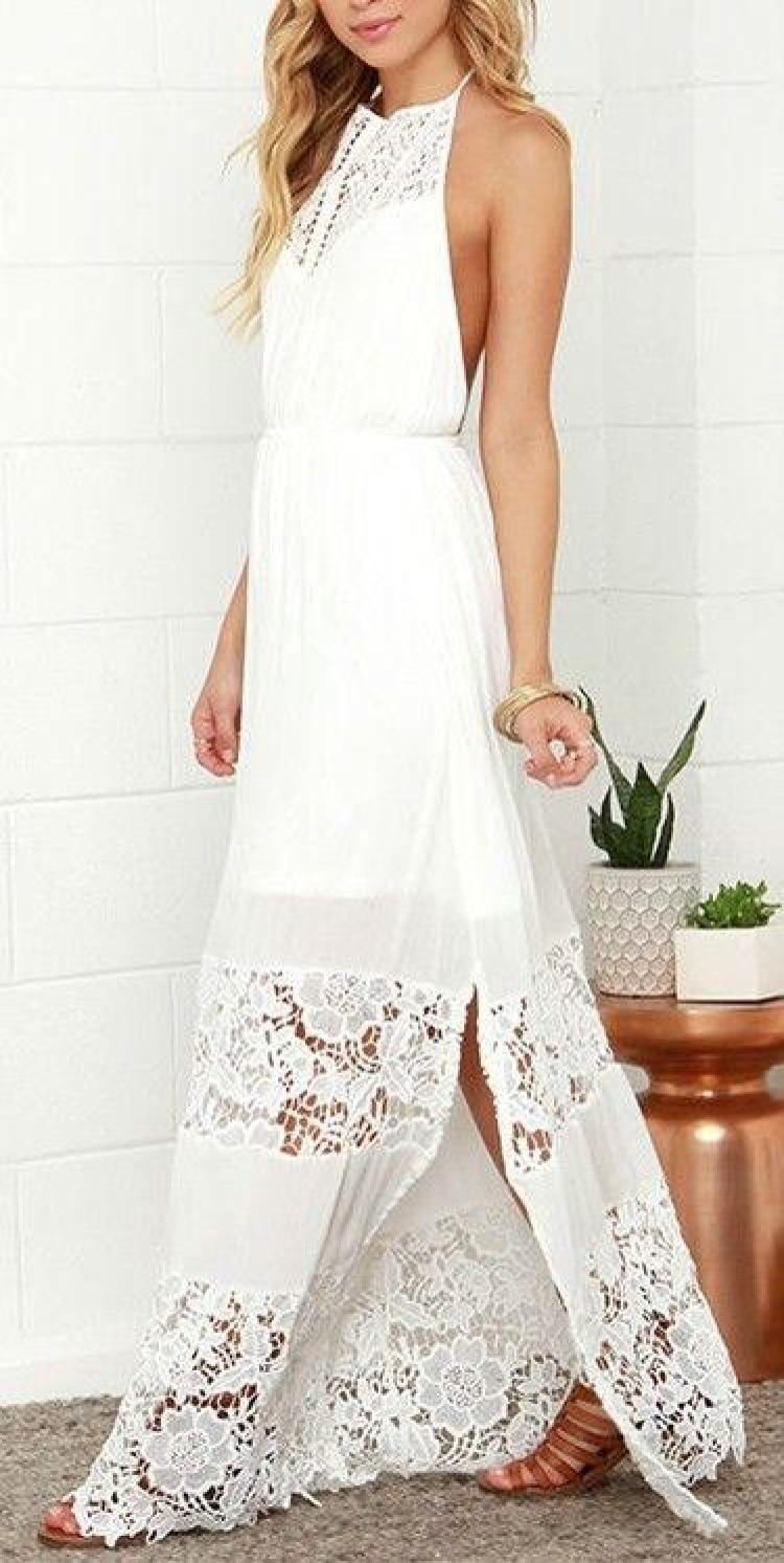 Casual beach wedding dresses to stay cool lushzone for Casual informal wedding dress