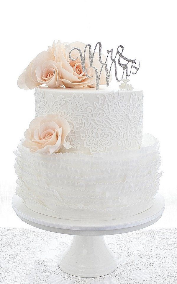Wedding Cakes that are Elegantly Simple   MODwedding     wedding cakes 14 11022015 km