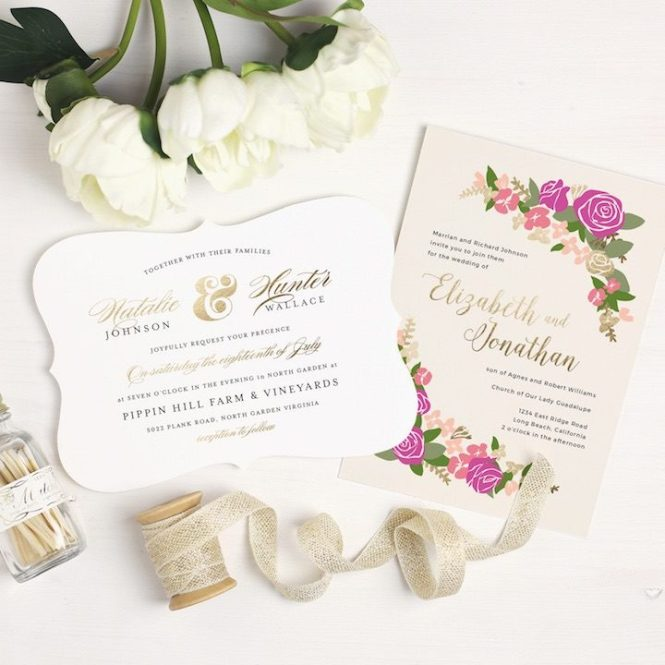 5 Wedding Invitation Trends For 2016
