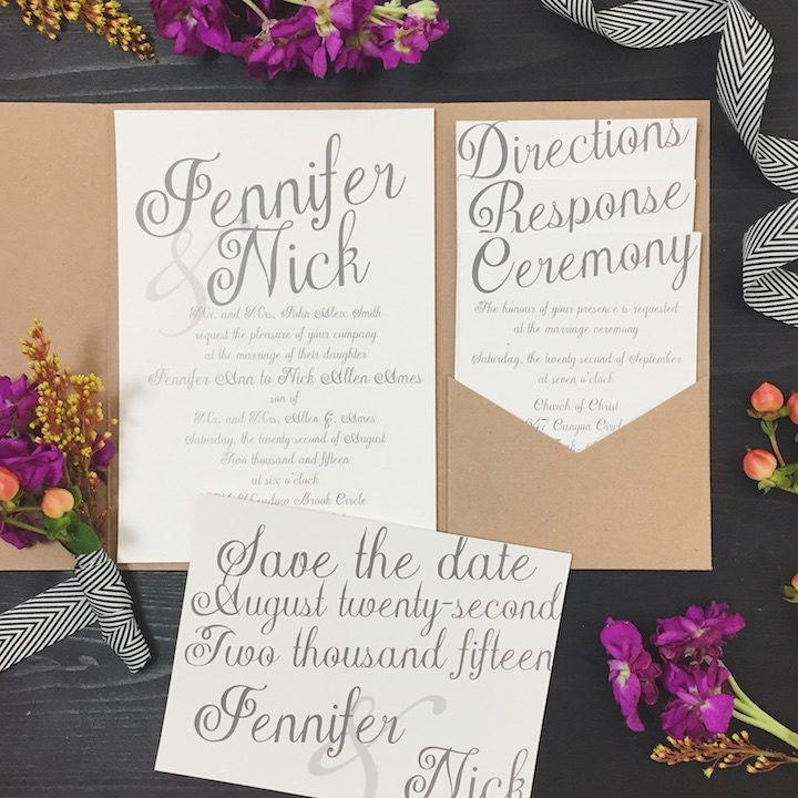 Wedding Invitation 5 112017mc