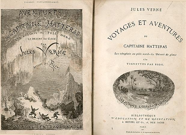 Hatteras, Hetzel - Paris 1864