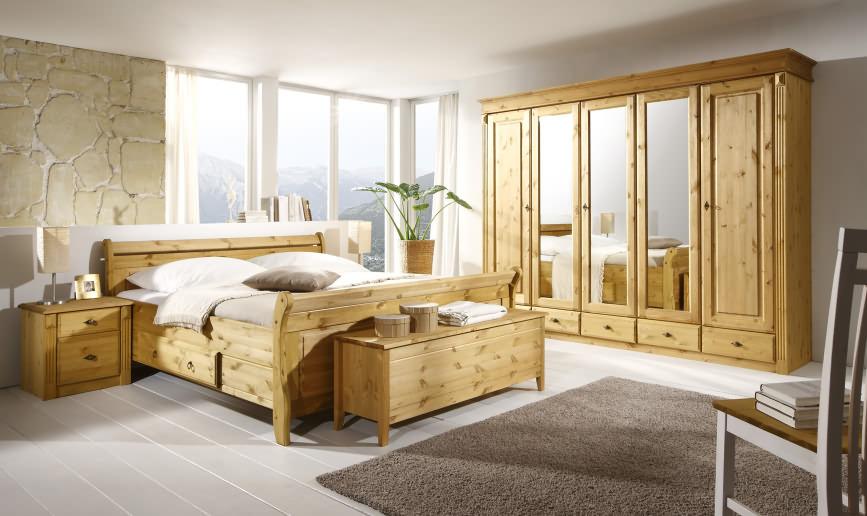 schlafzimmer cora kiefer massiv
