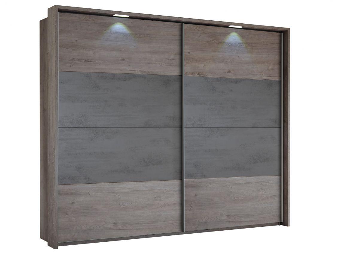 270 cm eiche graue kleiderschränke | winterengel