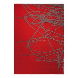 Teppich Brainstorm - Wolle/Burned Orange - 90 cm x 160 cm