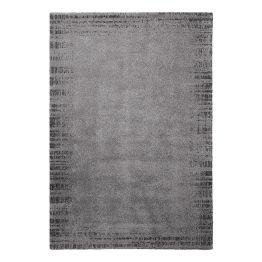 Teppich Corso II - Grau / Anthrazit - 120 x 170 cm
