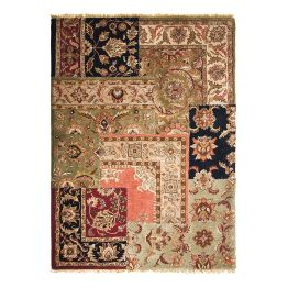 Teppich Persian Patchwork - Wolle/Mehrfarbig - 300 cm x 200 cm