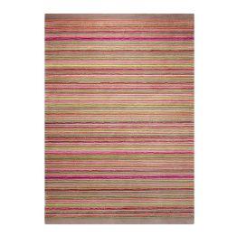 Teppich Samba Stripes - Taupe - Maße: 200 x 200 cm