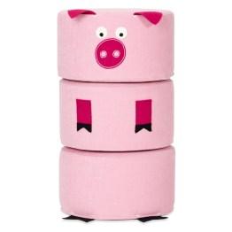 Hocker-Set Zoo Piggie wird garantiert schnell zum Lieblingsspielzeug Ihrer Kinder avancieren