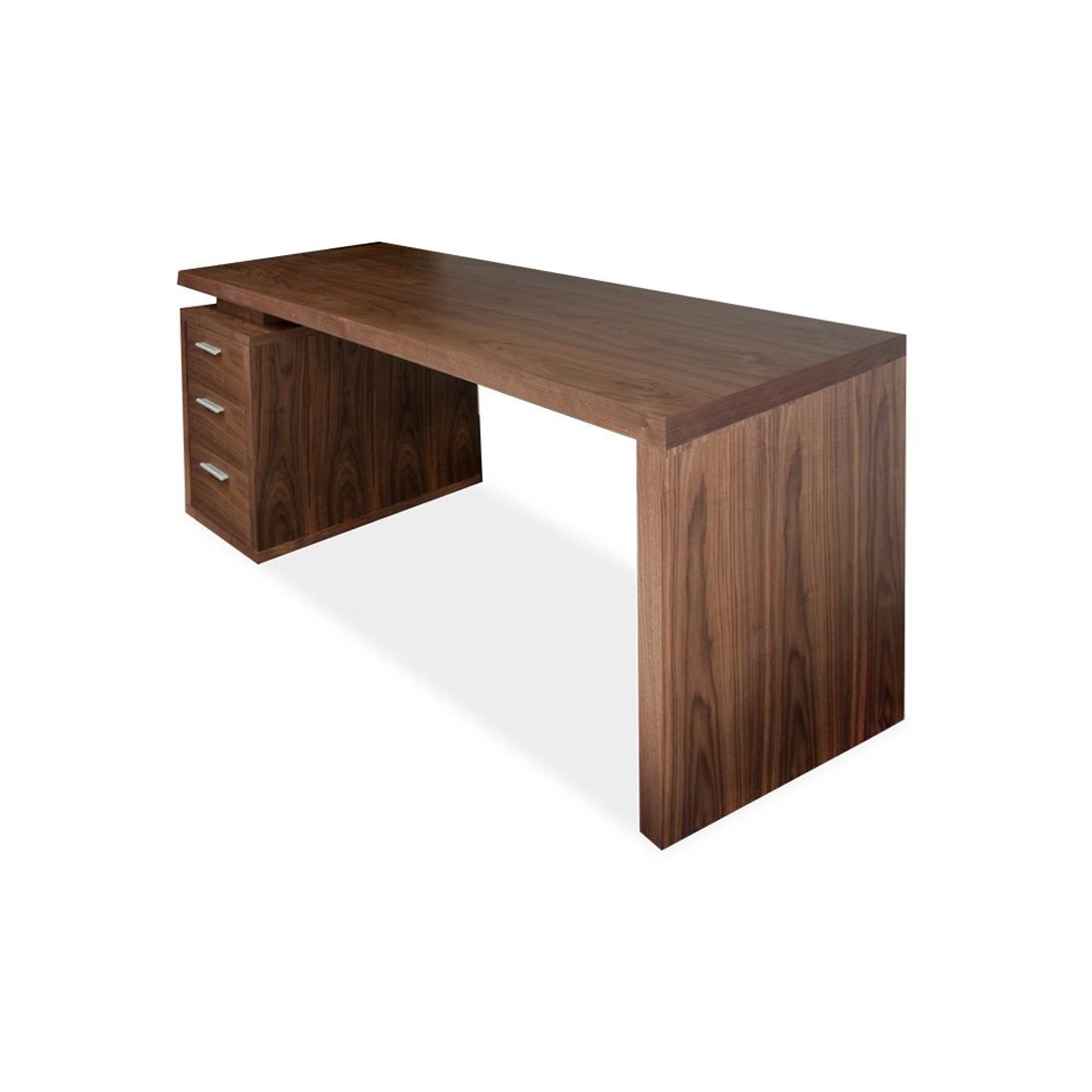 Schreibtisch Walnuss Tisch Computertisch Arbeitstisch Moebel Liebecom