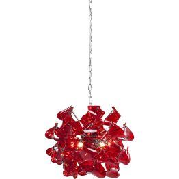 Lampe: Leuchtkugel Abstraktes Design sorgt für besondere und spannende Lichteffekte. Die Hängeleuchte strahlt aus den unterschiedlichsten Perspektiven. Verchromter Stahl sorgt zusätzlich für Reflexionen. In verschiedenen Ausführungen erhältlich.