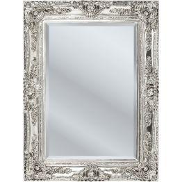 Spiegel: Dekoratives Multitalent Mit seiner aufwendig gestalteten Einfassung wertet dieser Spiegel Ankleidezimmer und Flur auf. Auch quer bringt er Wärme und Harmonie in den Raum. Er verleiht optisch mehr Höhe. In weiteren Ausführungen erhältlich.