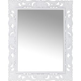 Spiegel: Moderne Opulenz Eleganter Spiegel der durch seine opulenten und doch reduzierten Ornamente für modernes Barock-Flair sorgt. Lockert puristische Interiors stilvoll auf