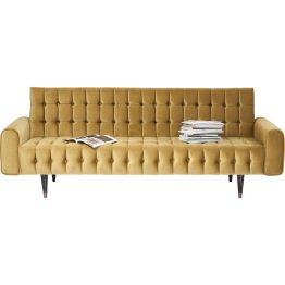 Sofa: Retro Vibes de luxe Elegantes und luxuriöses 3-Sitzer Sofa mit lässigem Retro-Charme