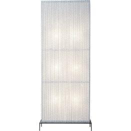 Lampe: Eleganter Lichtkörper Mit ihrem außergewöhnlich breiten Format fällt die Stehlampe Rectangular Black & White gekonnt auf und erreicht dennoch ein elegantes Niveau