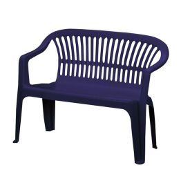 Bank Belleair (2-Sitzer) - Kunststoff - Dunkelblau