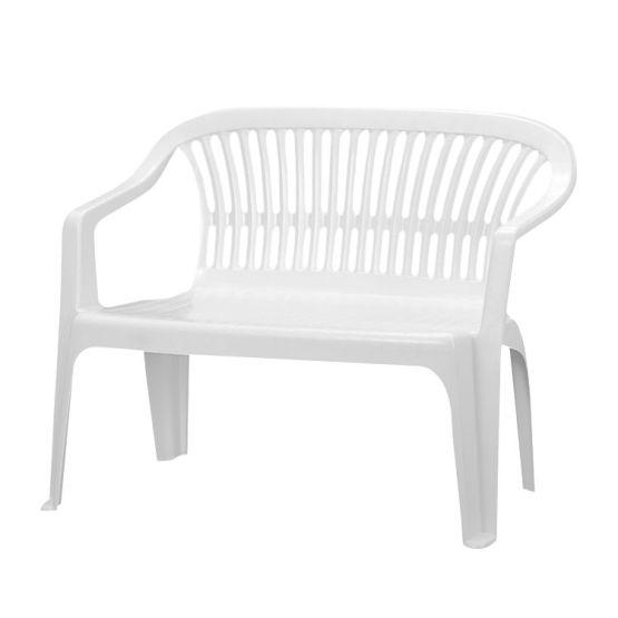 Bank Belleair (2-Sitzer) - Kunststoff - Weiß