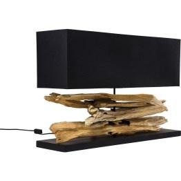 Lampe: Elegante Tischleuchte mit natürlichem Flair Bei dieser Tischleuchte sind es vor allem die Formen