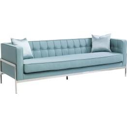 Sofa: Modern Classic Elegantes und komfortables 3-Sitzer Sofa mit dezenten Retro-Zitaten. Gelungene Verbindung aus geradlinig-schlanker Silhouette