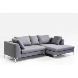 Ecksofa: Kuschelfaktor garantiert Modernes und komfortables Ecksofa in geradliniger