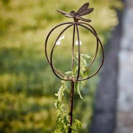 Gartenstab Libelle