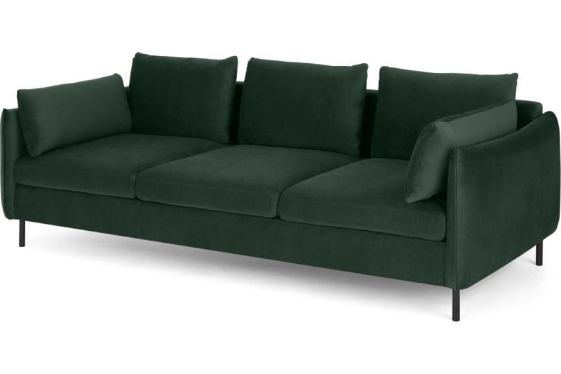 Made.com Sofa Samt-Look