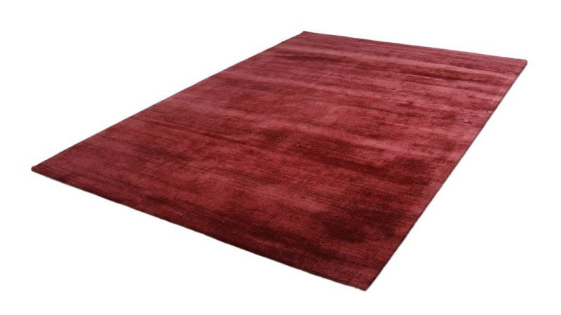 Teppich Viskose - Rot