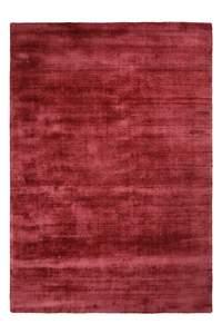 Viskose Teppich rot
