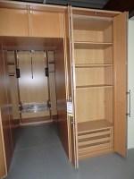 Kleiderschränke System 2000 Echtholz Ahorn furniert ...