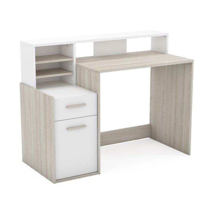 Schreibtisch Mit Aufsatz Weiß 2021