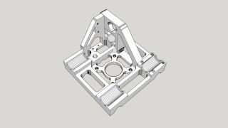 Modélisation de pièce complexe sous sketchup pro