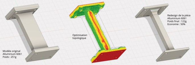Optimisation topologique légendée