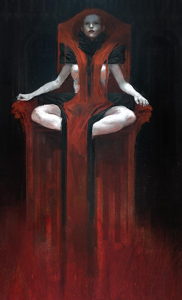 Tobias Kwan - Red Lady