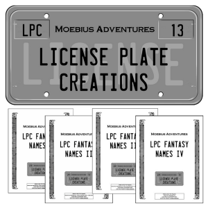 License Plate Creations