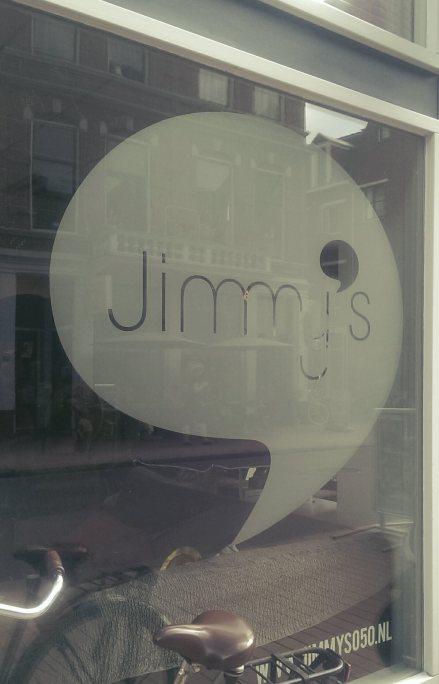 in het centrum van Groningen is Jimmy's te vinden