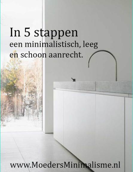 in5stappeneenminimalistischaanrecht