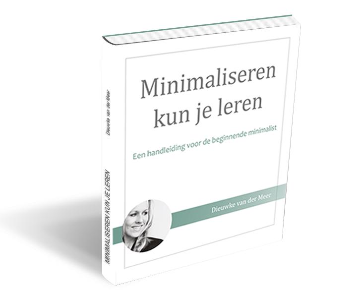 E-book: Minimaliseren kun je leren