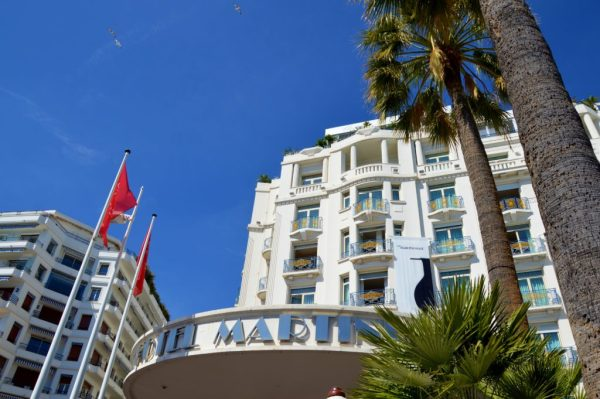 The Martinez Hotel in Cannes, now a Hyatt