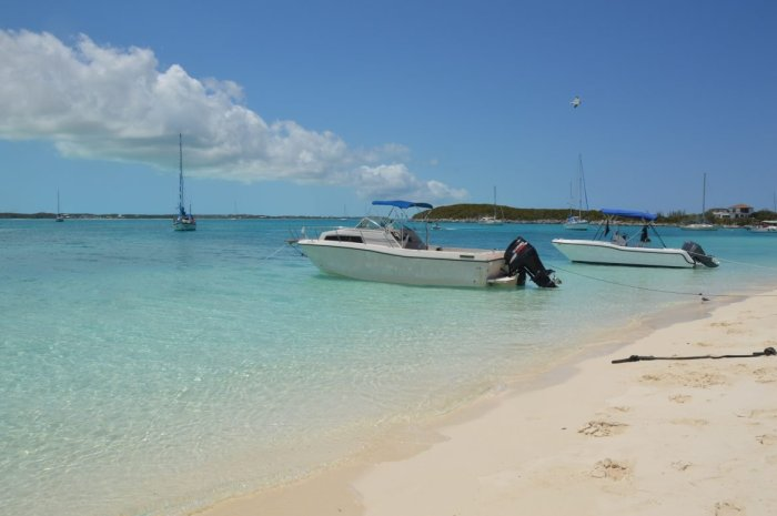 Visit Stocking Island on Exuma