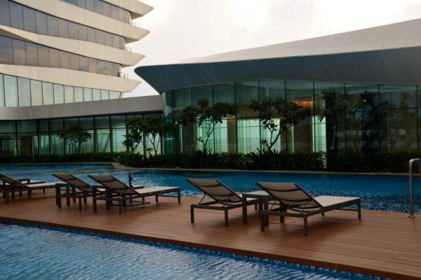 Conrad Manila Hilton Pool