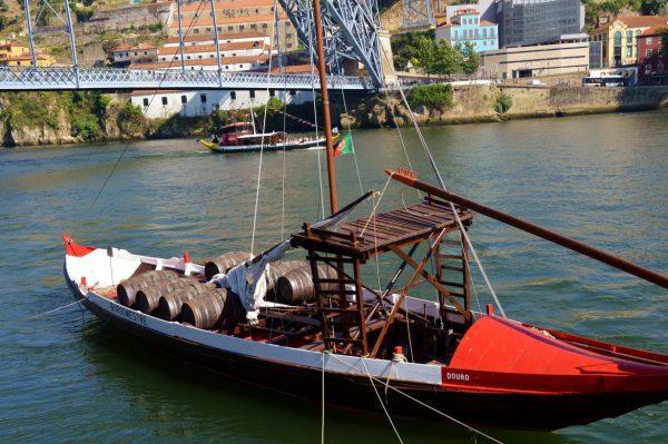 Delicious Porto on the boat