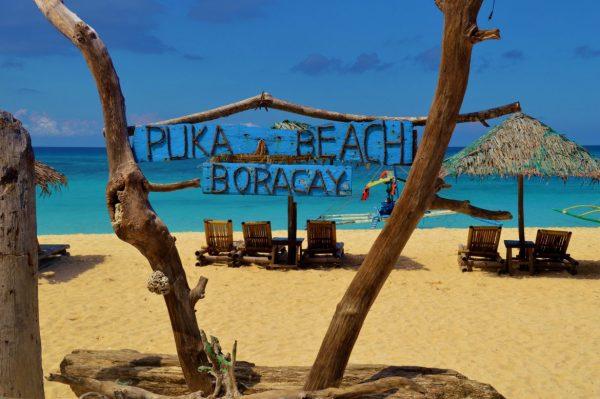 Famous Puka Shell Beach