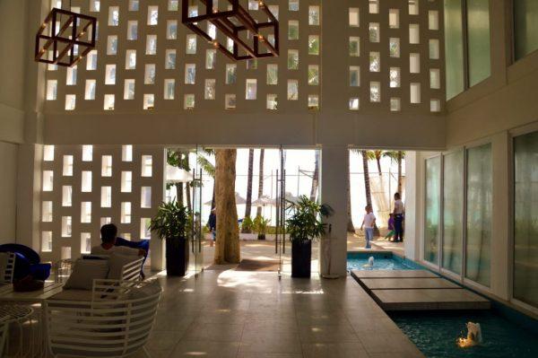 Lobby area Coast Hotel Boracay