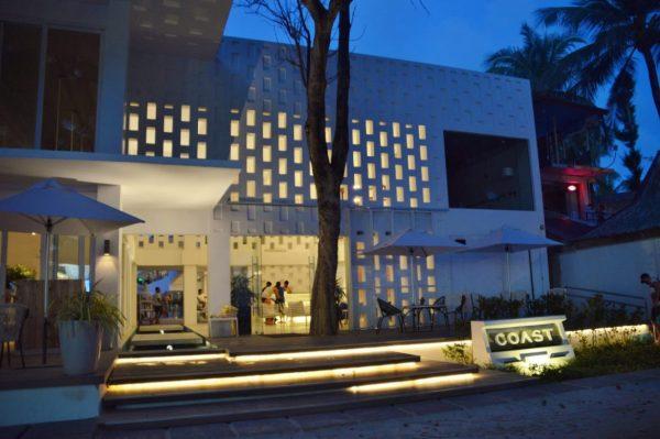 Front Entrance of Coast Boracay Hotel