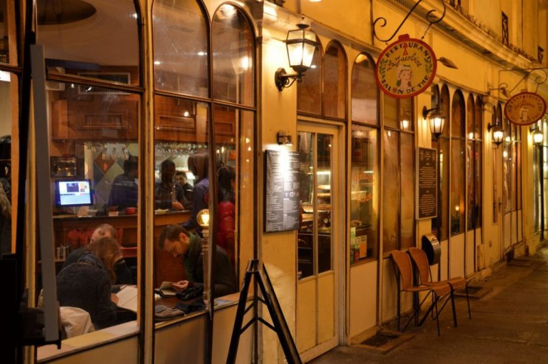 La Jacobinne in Paris is located in a gallery in the 6th arrondissement.
