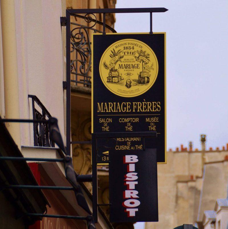 Mariage Freres Tea House in Paris