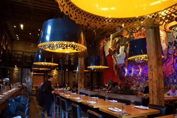 El Catrin Mexican Restaurant in Toronto's Distillerie District