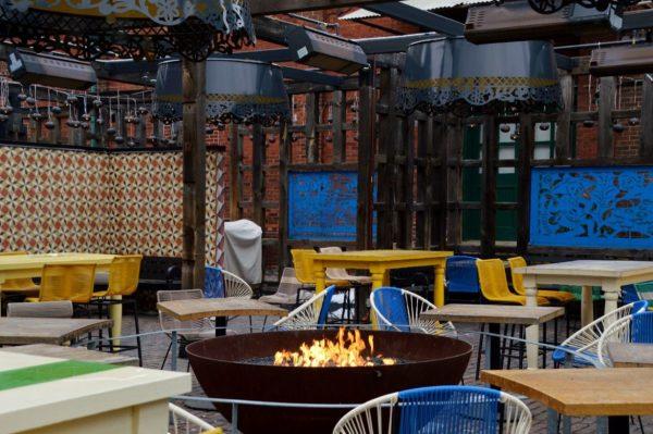 El Catrin Restaurant's Fire pit