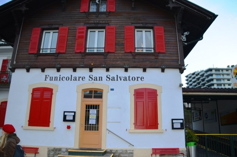 Funicolare San Salvatore Lugano Svizzera