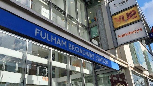 Vue Cinema at Fulham Broadway Tube Station