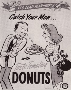 LeapYear vintage donut pic